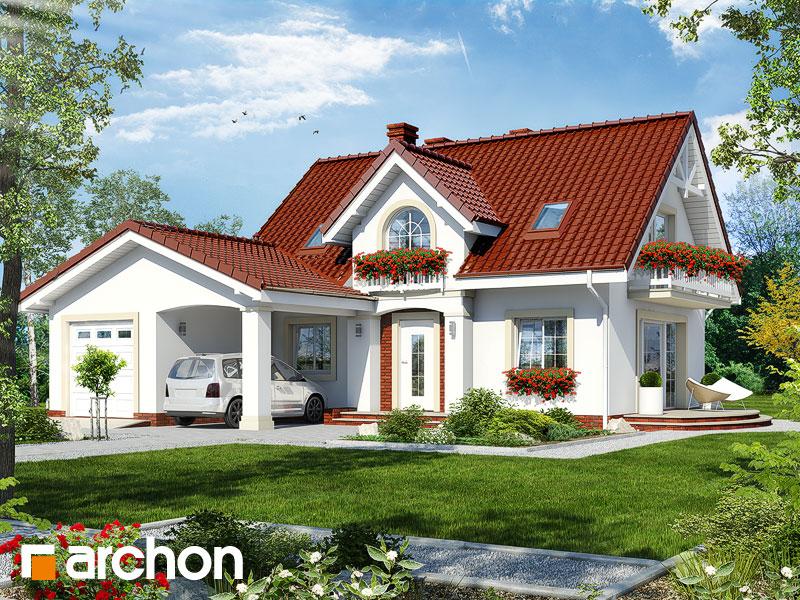 Проект дома ARCHON+ Дом в кориандре 2 (Г) - Визуализация 1