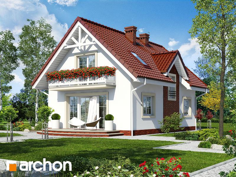 Проект дома ARCHON+ Дом в кориандре 2 (Г) - Визуализация 2