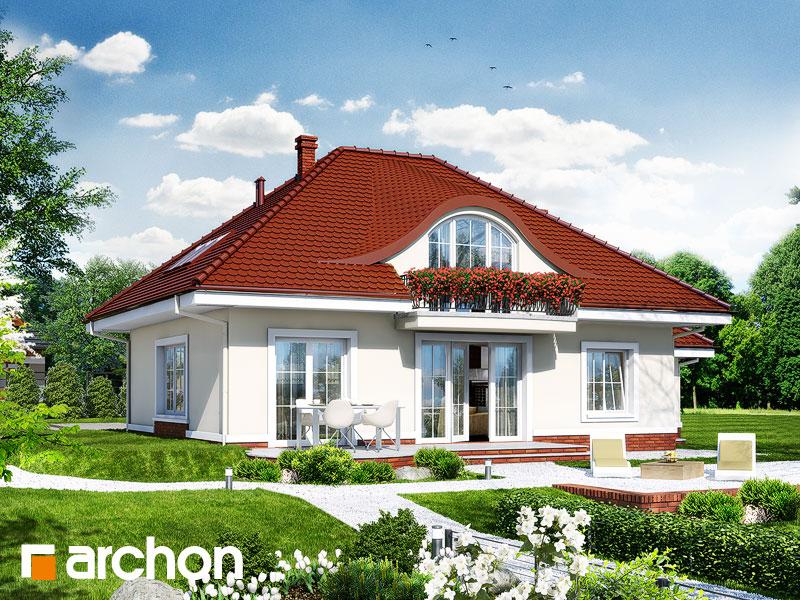 Проект дома ARCHON+ Дом в арбузах - Визуализация 2