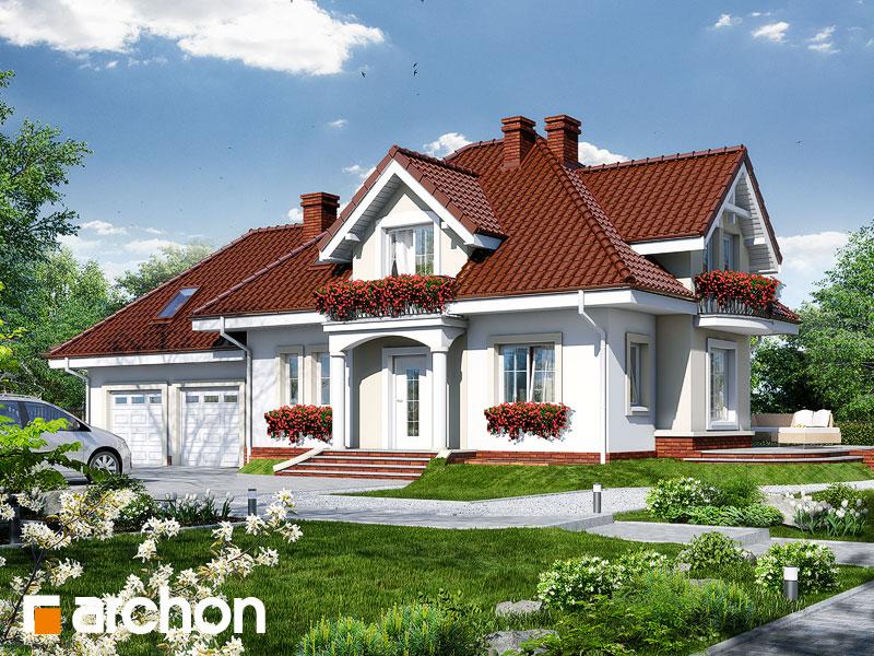 Проект дома ARCHON+ Дом в вербене (Г2П) - Визуализация 1