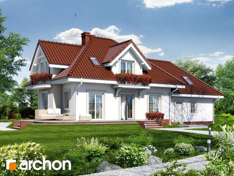 Проект дома ARCHON+ Дом в вербене (Г2П) - Визуализация 2
