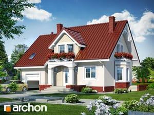 Проект дома ARCHON+ Дом в тамарисках 4