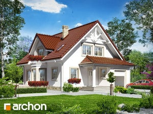 Проект дома ARCHON+ Дом в очанке