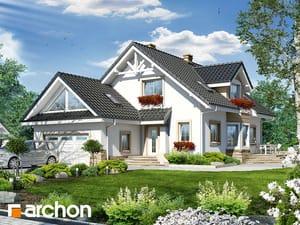Проект дома ARCHON+ Дом в кокосах 2