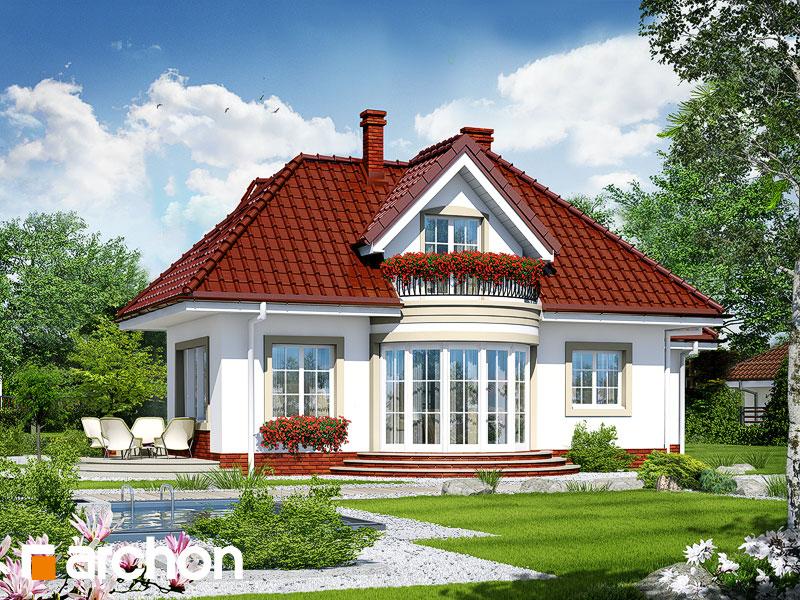 Проект дома ARCHON+ Дом в бересклете - Визуализация 2