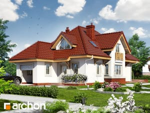 Проект дома ARCHON+ Дом в фуксиях 4