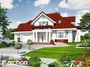 Проект дома ARCHON+ Дом во вьюнке (Г2)
