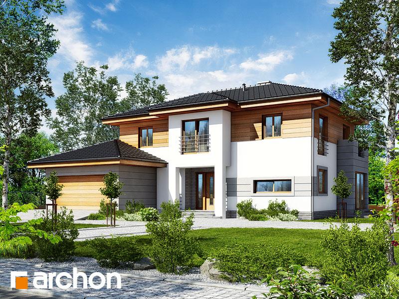 Проект дома ARCHON+ Вилла Александра - Визуализация 1