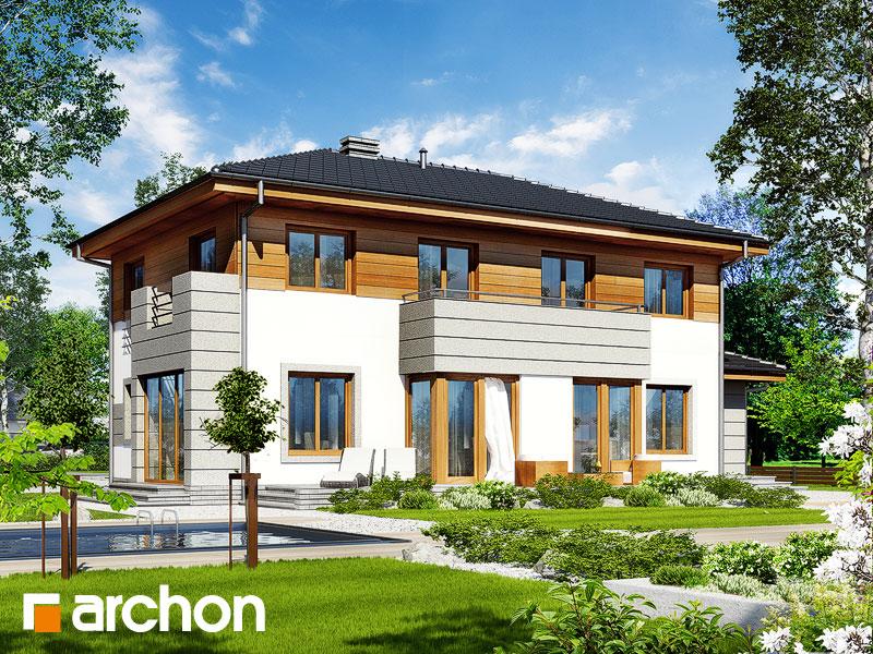 Проект дома ARCHON+ Вилла Александра - Визуализация 2