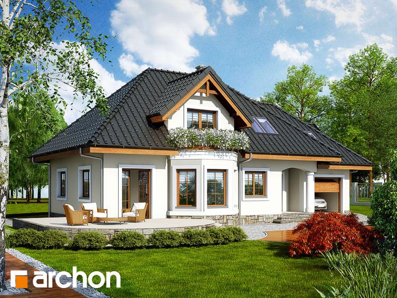 Проект дома ARCHON+ Дом в авокадо (Г) - Визуализация 2