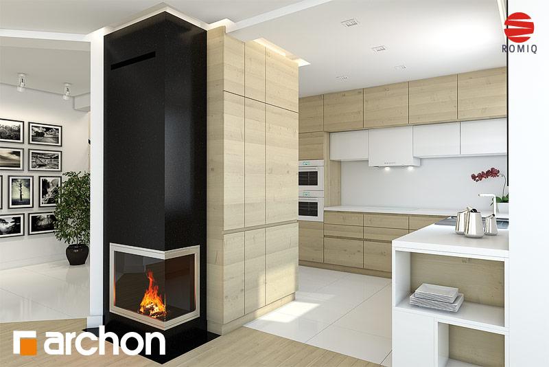 Проект дома ARCHON+ Дом в авокадо (Г) - Интерьеры