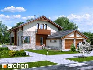Проект дома ARCHON+ Дом под черным деревом