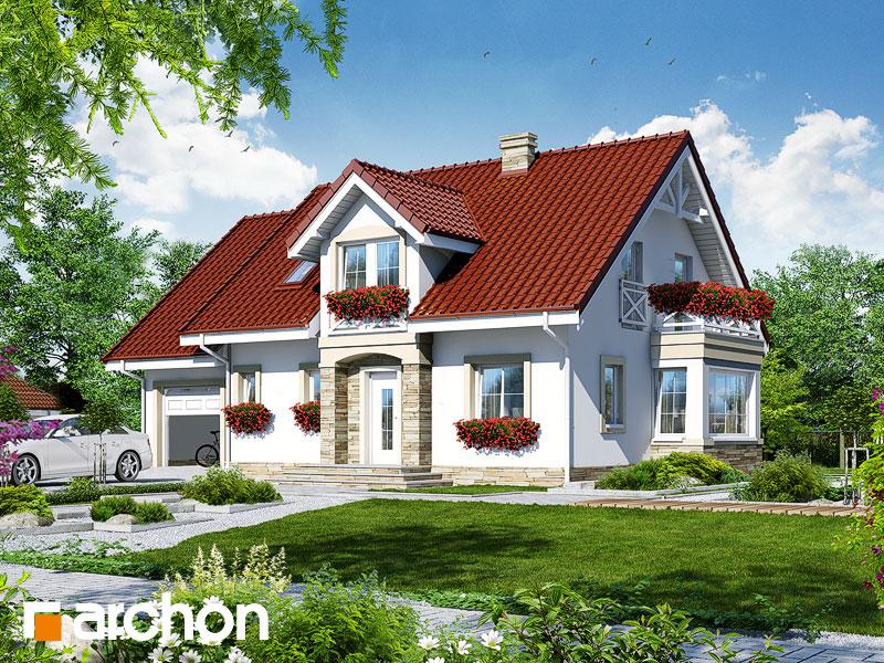 Проект дома ARCHON+ Дом в сезаме - Визуализация 1