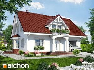 Проект дома ARCHON+ Дом в бархатцах 4