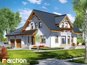 Проект дома ARCHON+ Дом в тамарисках 2 (Г2)