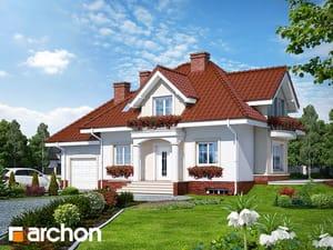 Проект дома ARCHON+ Дом в вербене (П)