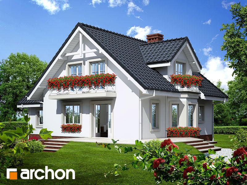 Проект дома ARCHON+ Дом в рододендронах 5 (П) - Визуализация 2