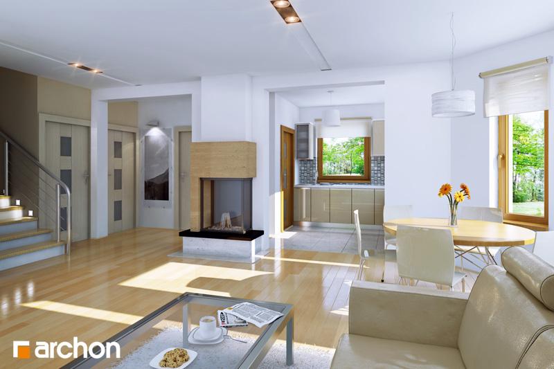 Проект дома ARCHON+ Дом в рододендронах 5 (П) - Интерьеры