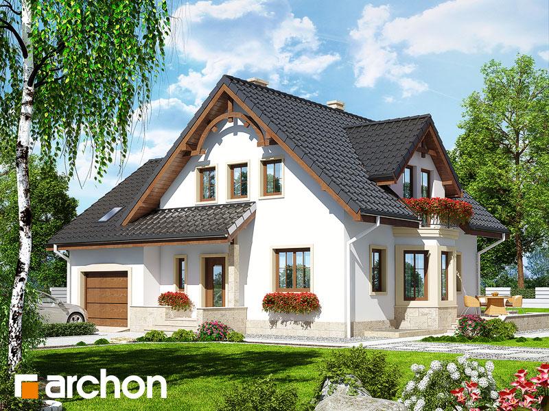 Проект дома ARCHON+ Дом в тамарисках 2 (П) - Визуализация 1