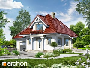 Проект дома ARCHON+ Дом в винограде 3