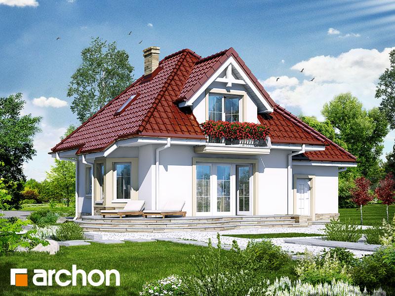 Дом в винограде 3 - Визуализация 2