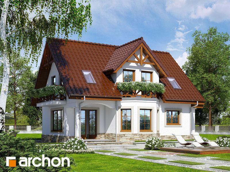 Проект дома ARCHON+ Дом в клюкве (П) - Визуализация 2