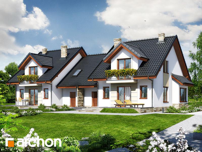 Проект дома ARCHON+ Дом в ревене (Б) - Визуализация 2