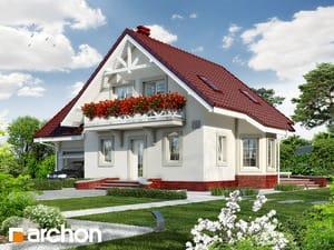 Проект дома ARCHON+ Дом в перловнике 2