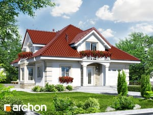 Проект дома ARCHON+ Дом в тимьяне 3