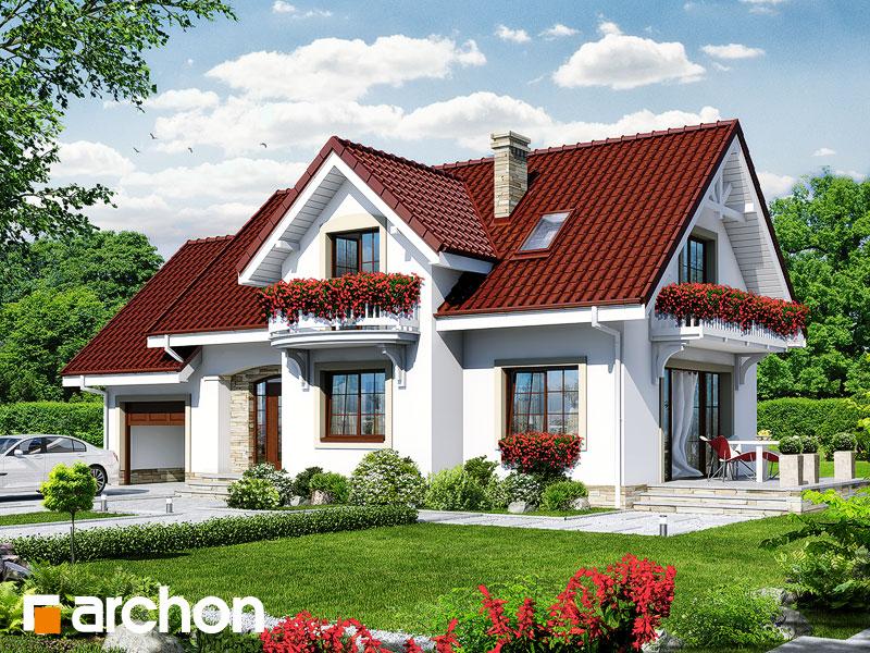 Дом в лобелиях 2 - Визуализация 1