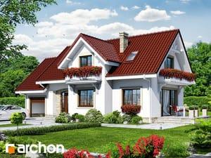 Проект дома ARCHON+ Дом в лобелиях 2