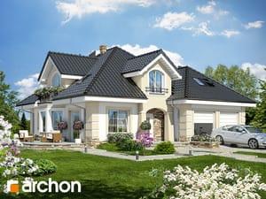Проект дома ARCHON+ Дом в дуброве (Г2П)