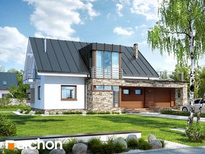 Проект дома ARCHON+ Дом под амбровым деревом