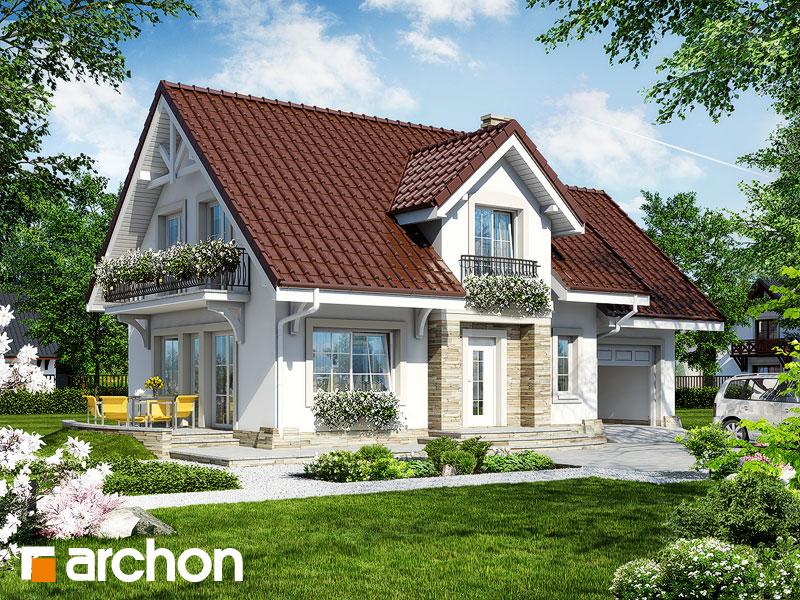 Проект дома ARCHON+ Дом в лантанах - Визуализация 1