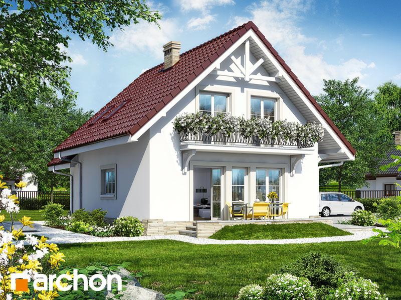 Проект дома ARCHON+ Дом в лантанах - Визуализация 2