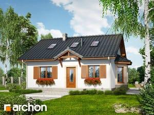 Проект дома ARCHON+ Дом в ягодах (М)