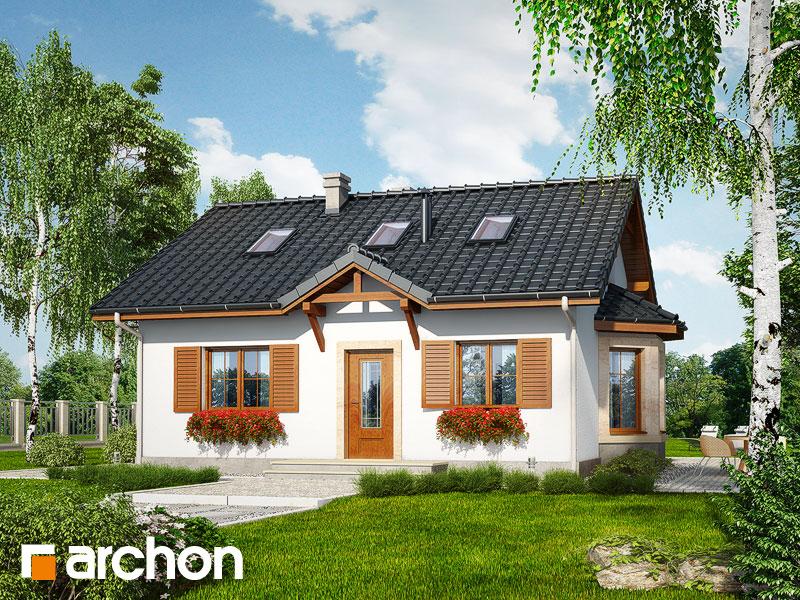 Проект дома ARCHON+ Дом в ягодах (М) - Визуализация 1