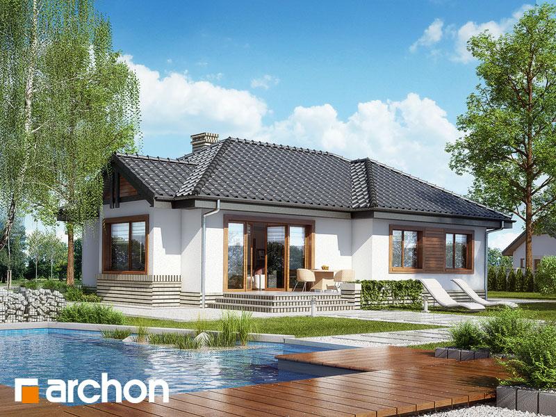 Проект дома ARCHON+ Дом в вереске - Визуализация 2