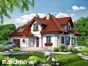 Проект дома ARCHON+ Дом под туями