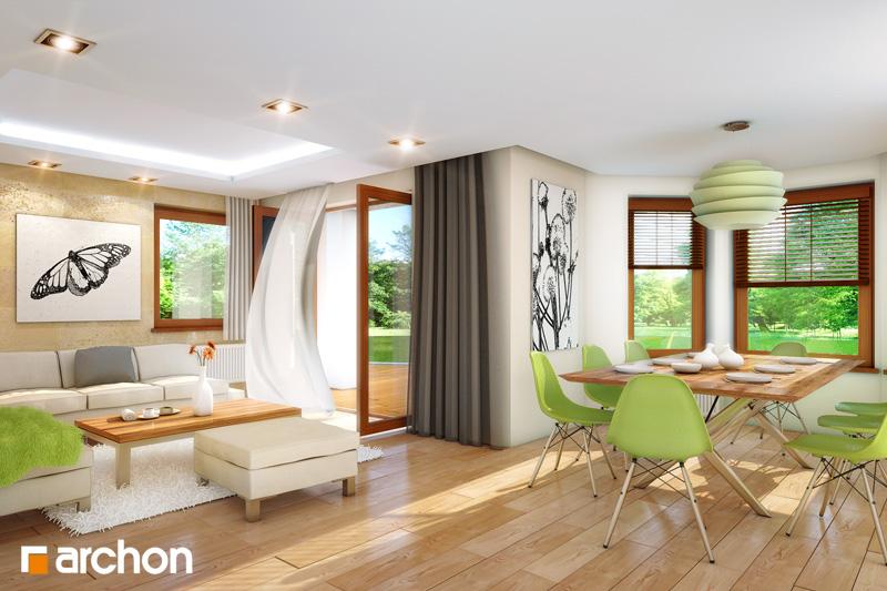 Проект дома ARCHON+ Дом под туями - Интерьеры