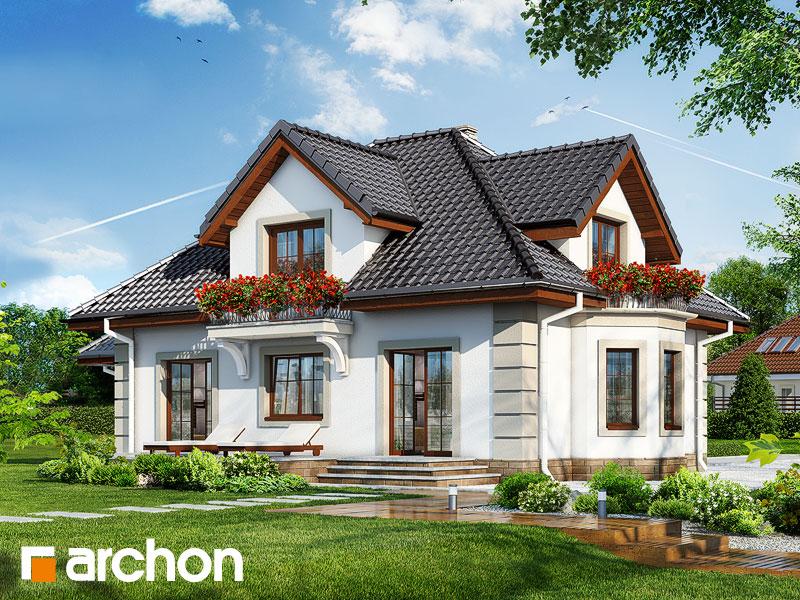 Проект дома ARCHON+ Дом в нектаринах 3 - Визуализация 2
