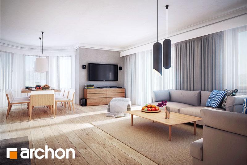 Проект дома ARCHON+ Дом в нектаринах 3 - Интерьеры