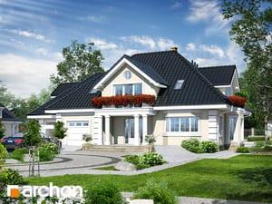 Проект дома ARCHON+ Дом во вьюнке 2