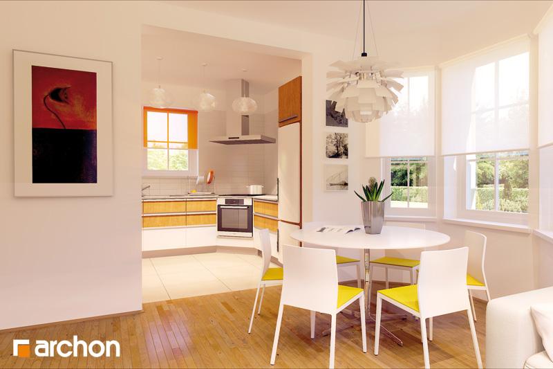 Проект дома ARCHON+ Дом в рододендронах (П) - Интерьеры