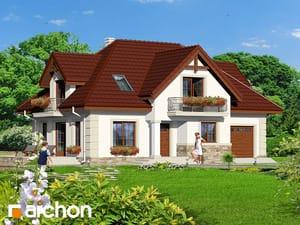 Проект дома ARCHON+ Дом в альпиниях