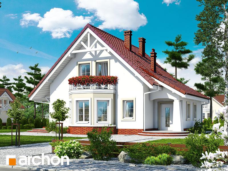 Дом в мандаринках 2 - Визуализация 1