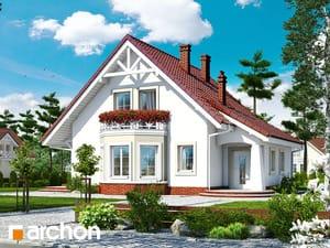 Проект дома ARCHON+ Дом в мандаринках 2