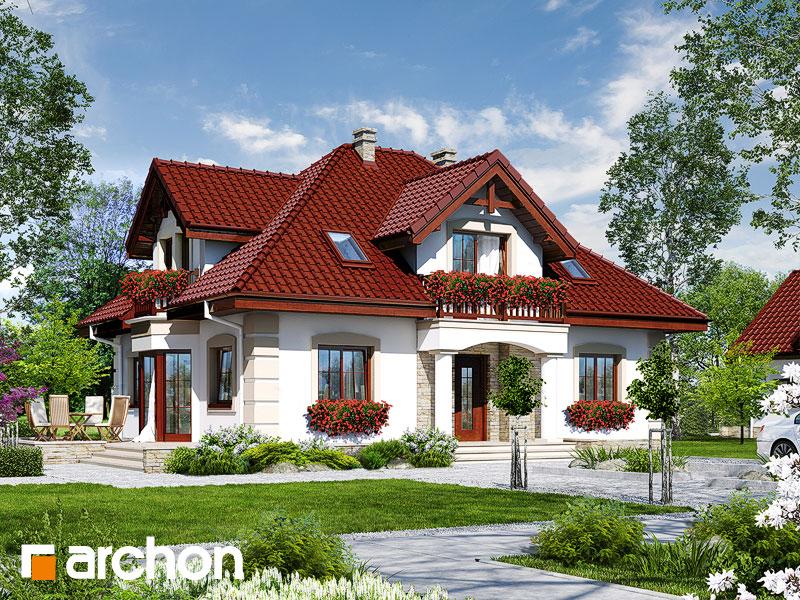 Проект дома ARCHON+ Дом в эхинацеях 3 - Визуализация 1