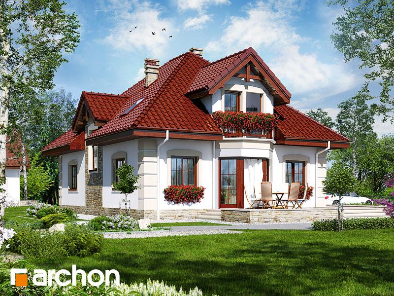 Проект дома ARCHON+ Дом в эхинацеях 3 - Визуализация 2