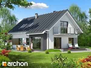 Проект дома ARCHON+ Дом в дельфиниуме 4
